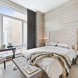 Battery Park City Residence, Master Bedroom