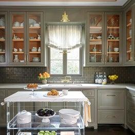 Residence in Houston, Butler's Pantry