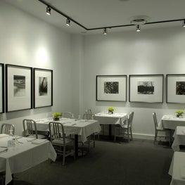 Vie Restaurant Private Dining Room.