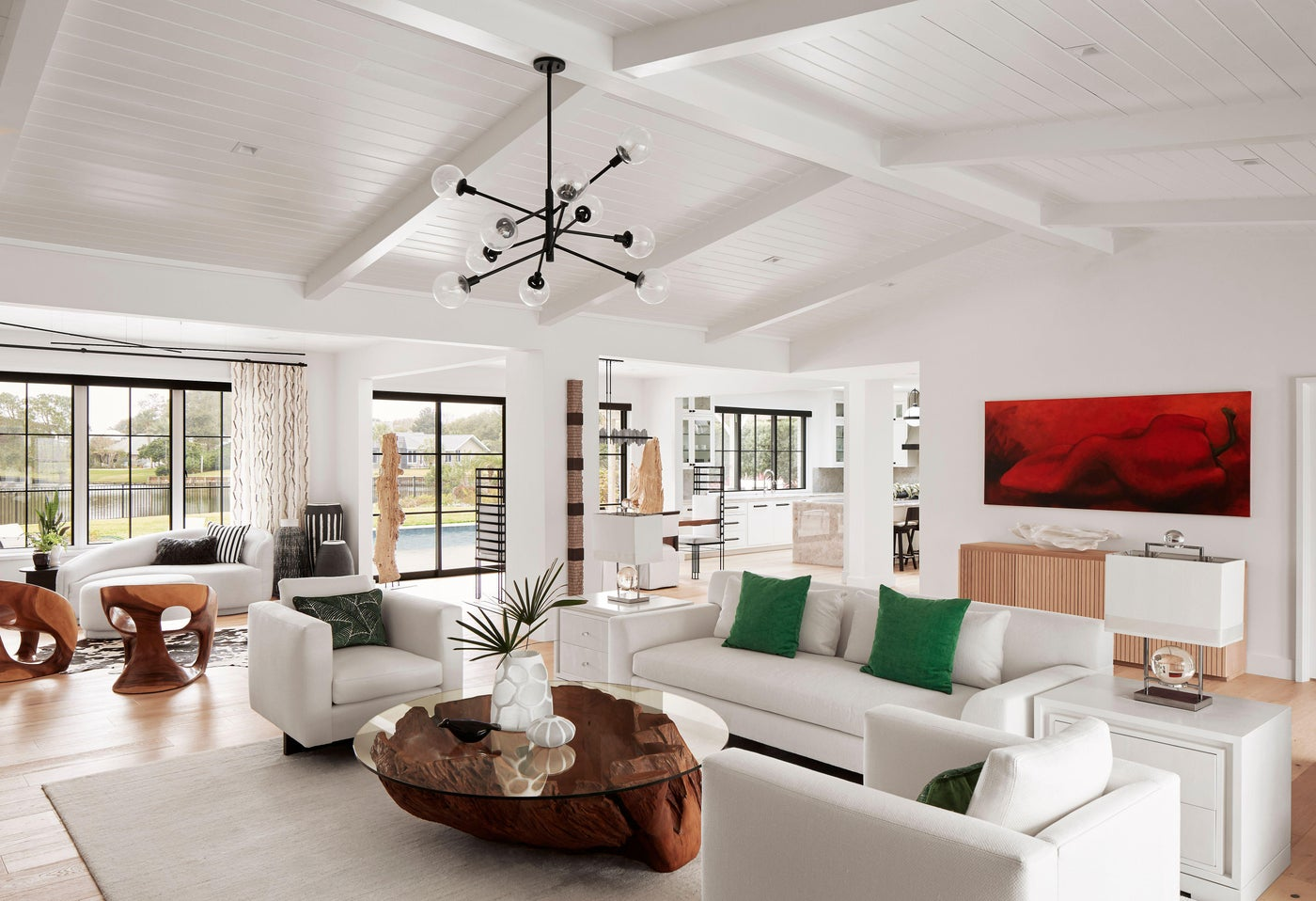 Airy Living Room