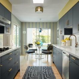 Mid Century Kitchen at Guggenheim House