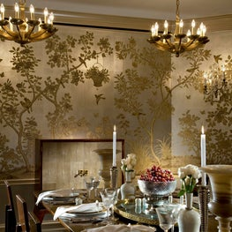 gracie wallpaper so versatile with contemporary furniture