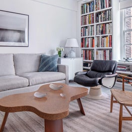 Study in Fifth Avenue Apartment