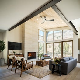 Black Gore Living Room