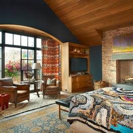 Lincoln Park Residence Master Bedroom