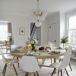Sag Harbor Project | View of Kitchen into Living Room