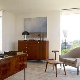 Contemporary Beach House - Office