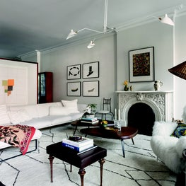 Brooklyn Townhouse - Living Room