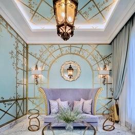 Deco Mansion, reception room
