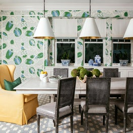 Bold and Colorful Dining Room