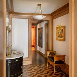 New York Merinoff Apartment Foyer