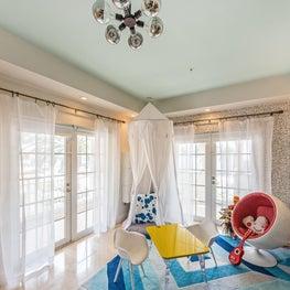 whimsical play room