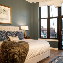 River North Master Bedroom