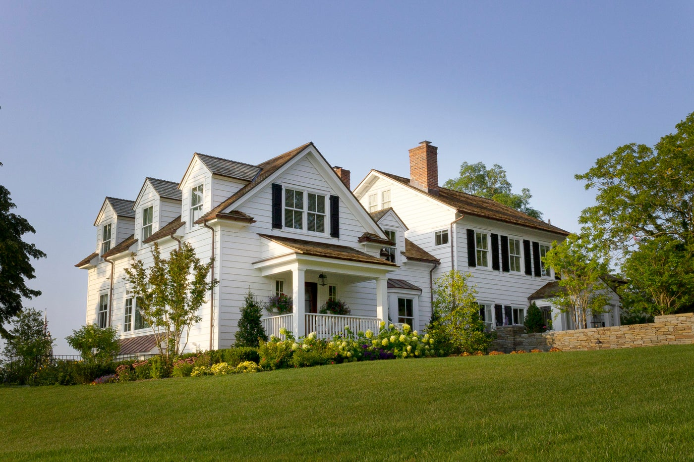 Whole house transformation of historic home on the Long Island Sound
