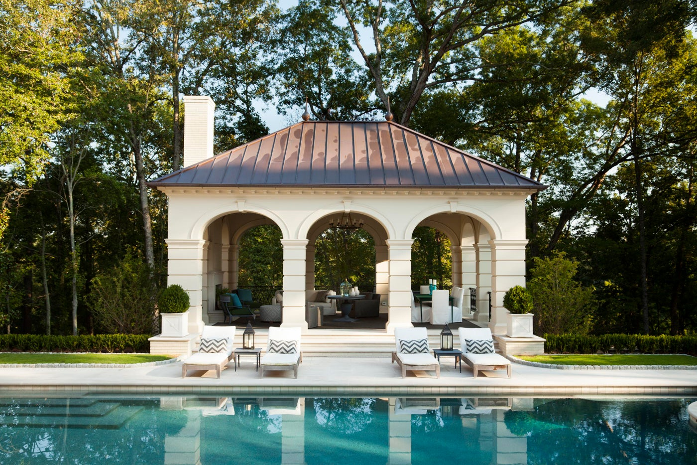 Cabana & Pool