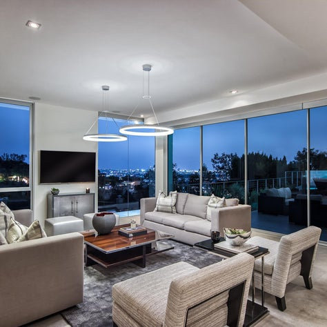 Hollywood Hills Living Room