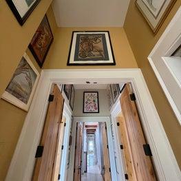 Hallways of art