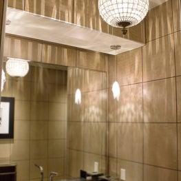 Maserati of Monterey Dealership Bathroom