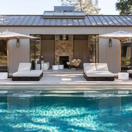 Romero Canyon Pool House