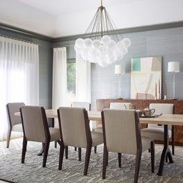Los Altos Hills Tudor Dining Room