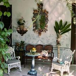 A Colonial Patio in Merida