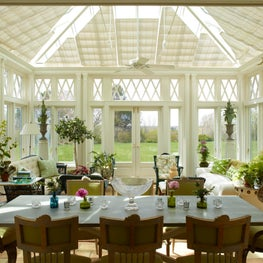 A conservatory in East Hampton