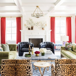 Color Me Bold Living Room