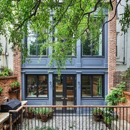 Cobble Hill Brownstone Rear Facade