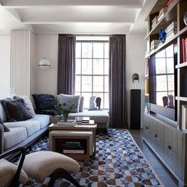 Family Room - Downtown Triplex Apartment