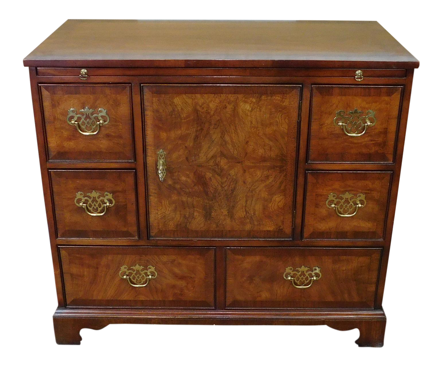 Fine Kindel Furniture Gany Elm Dining Room Cabinet Server 1990s Chairish