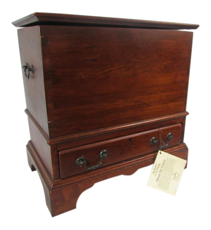 Bob Timberlake For Lexington Solid Cherry Lift Lid Treasure Chest Chairish