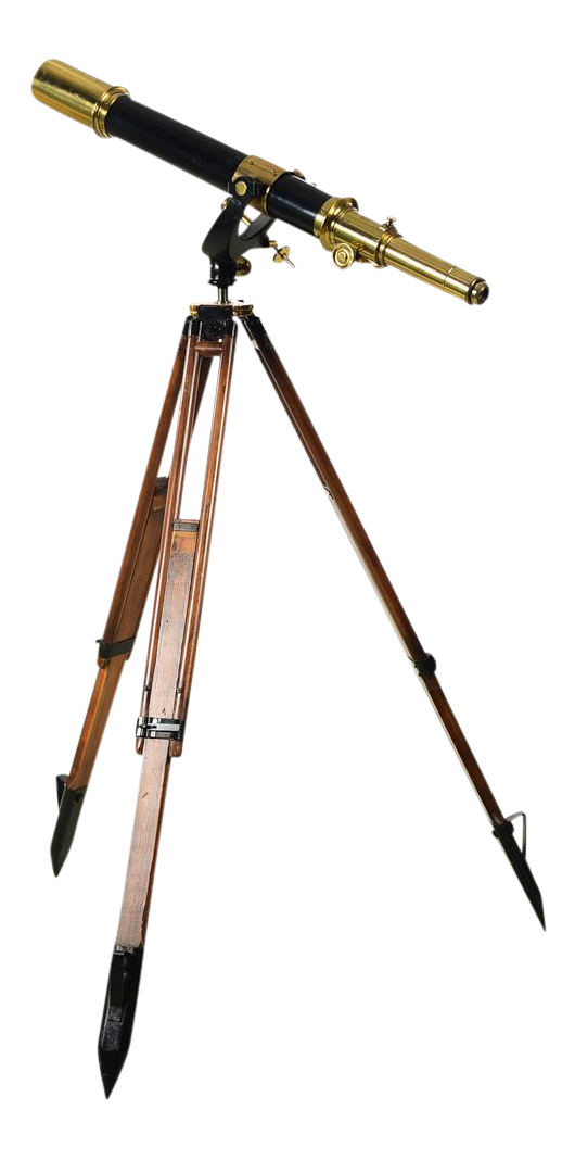 C 1920 Carl Zeiss Jena F 85cm Antique Astronomical Brass