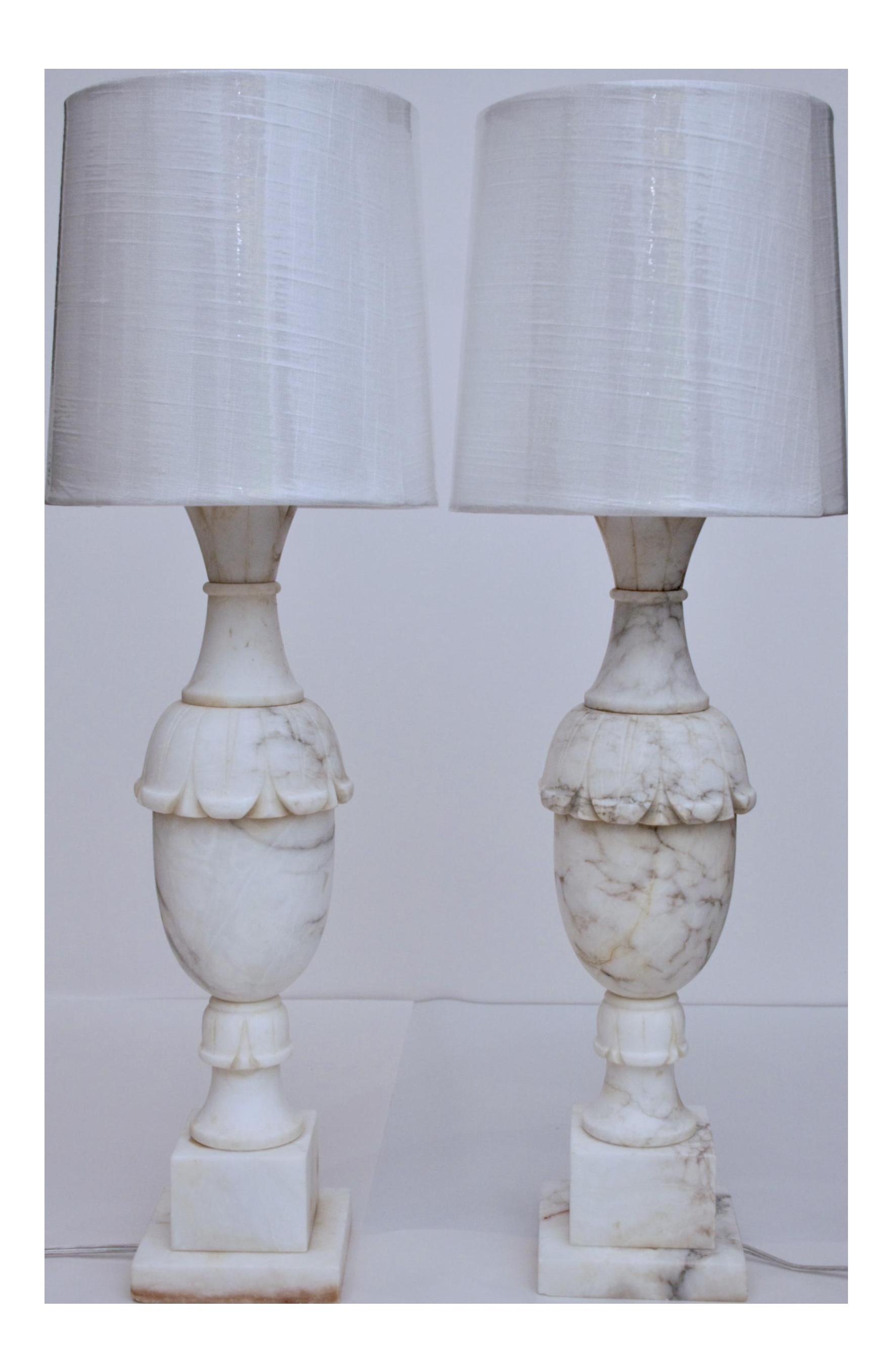 marble base lamp vintage desafiocincodias colorful