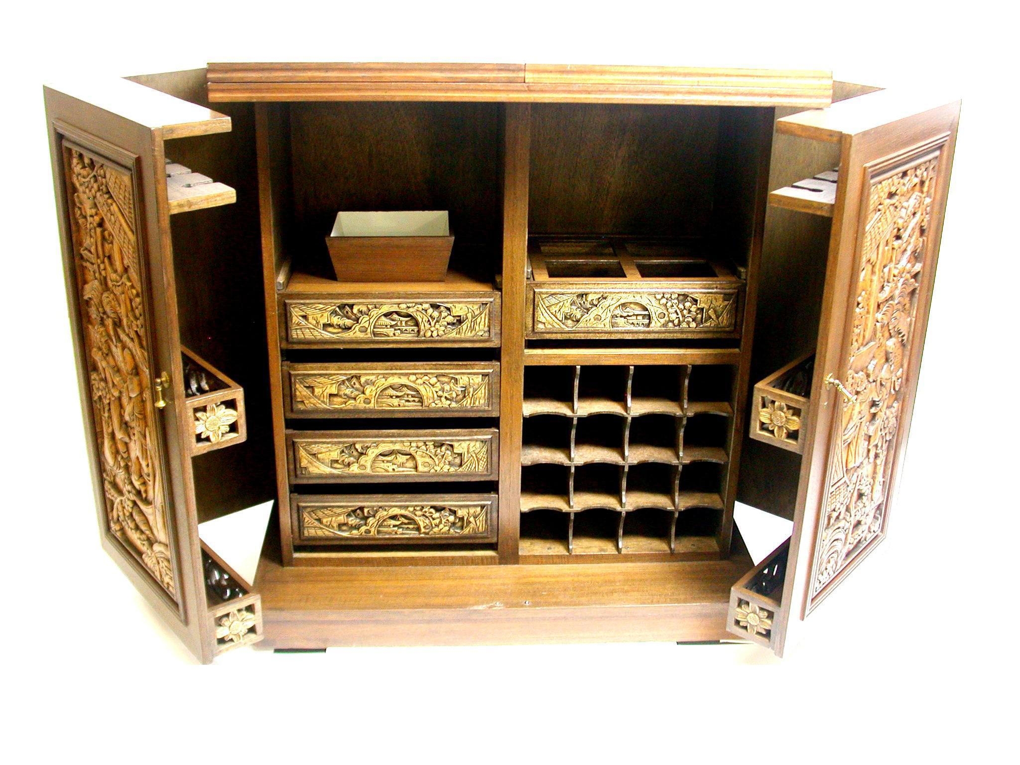 diy used liquor door cabinet mid modern credenza bar black century glass sliding with