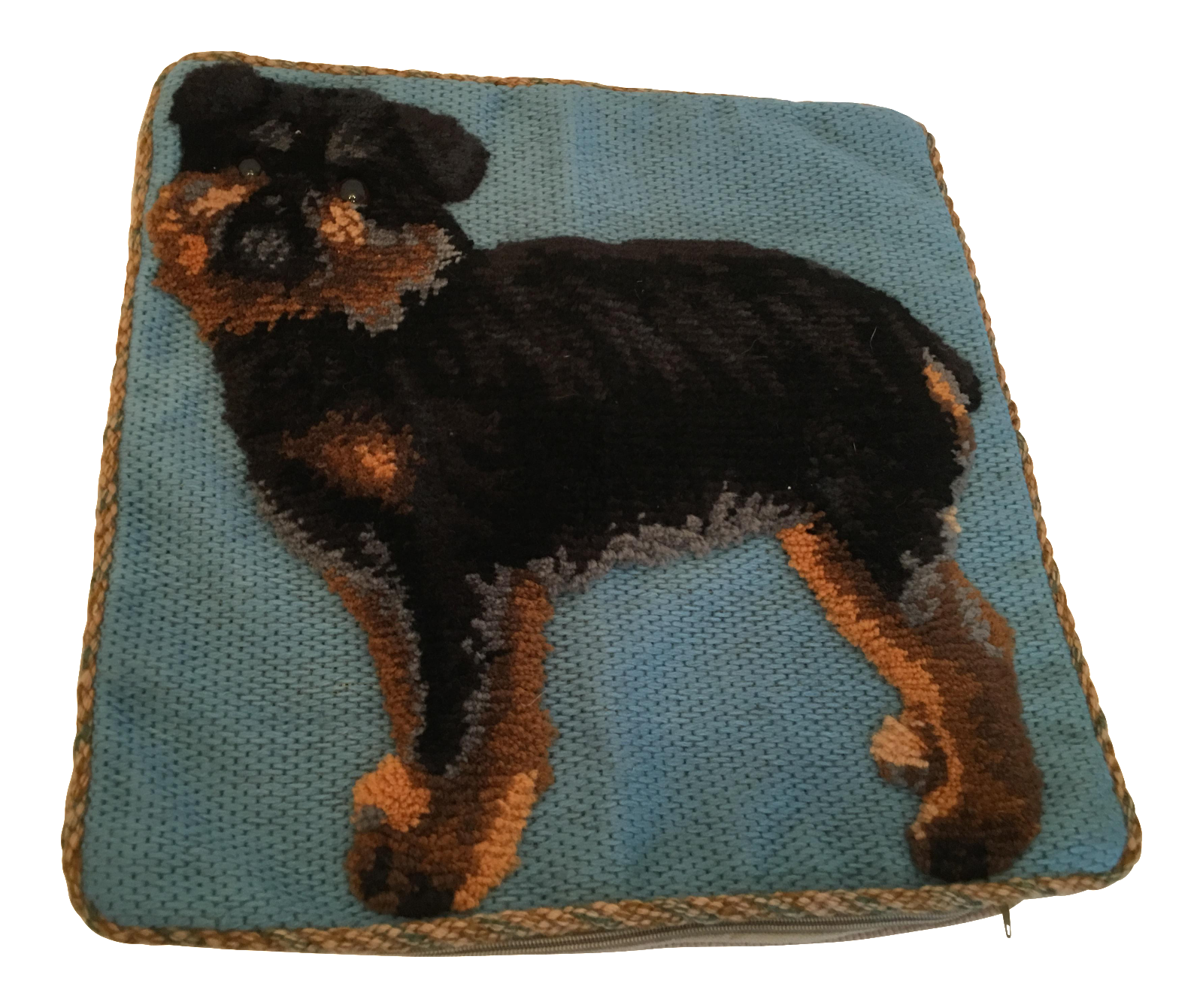 Stuffed Animal Dog Pillow : Yorkshire Terrier Plush Dog Pillow Chairish