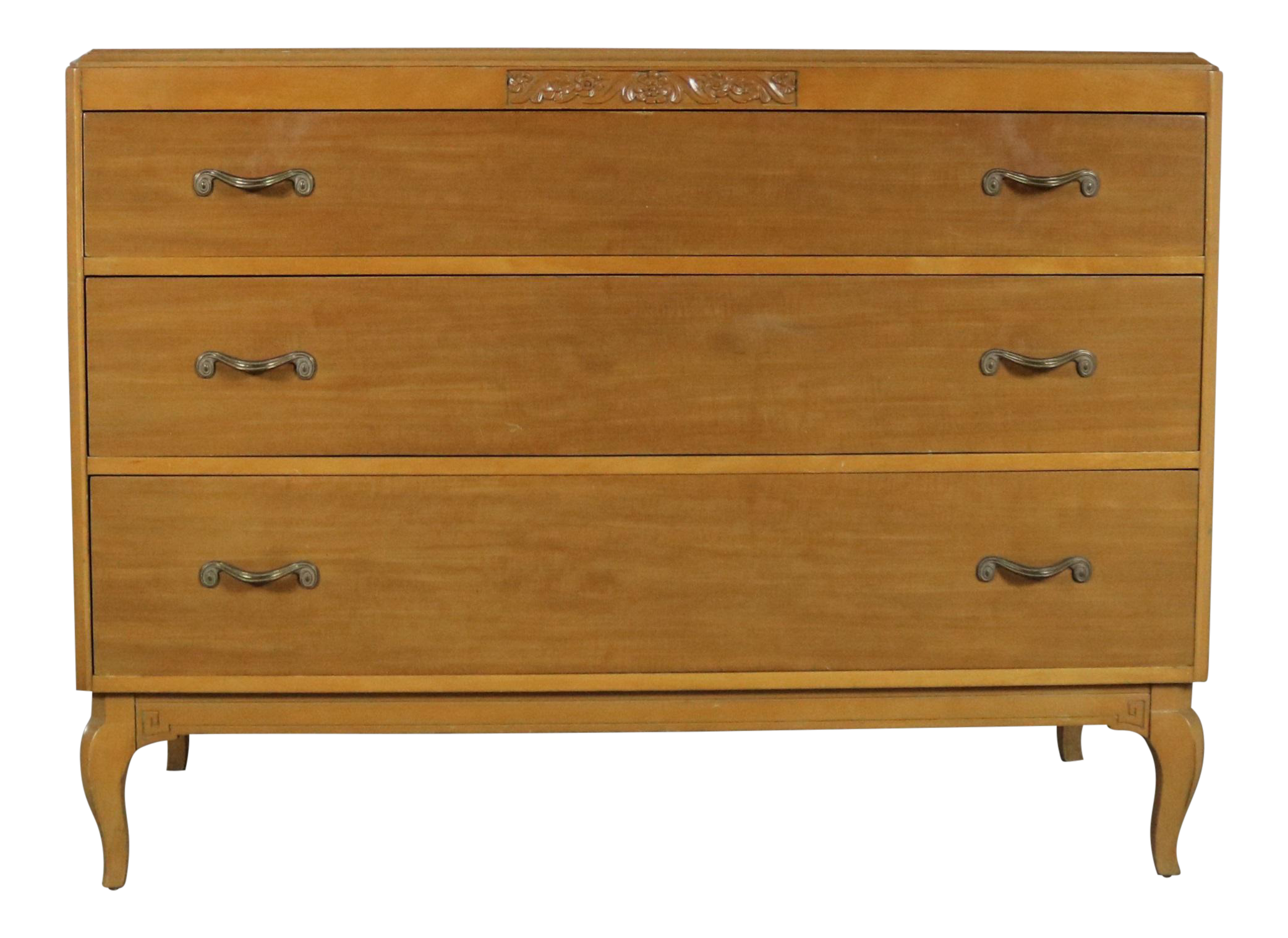 Art Deco Style Low Dresser By Rway Northern Furniture Company Of Sheboygan Chairish