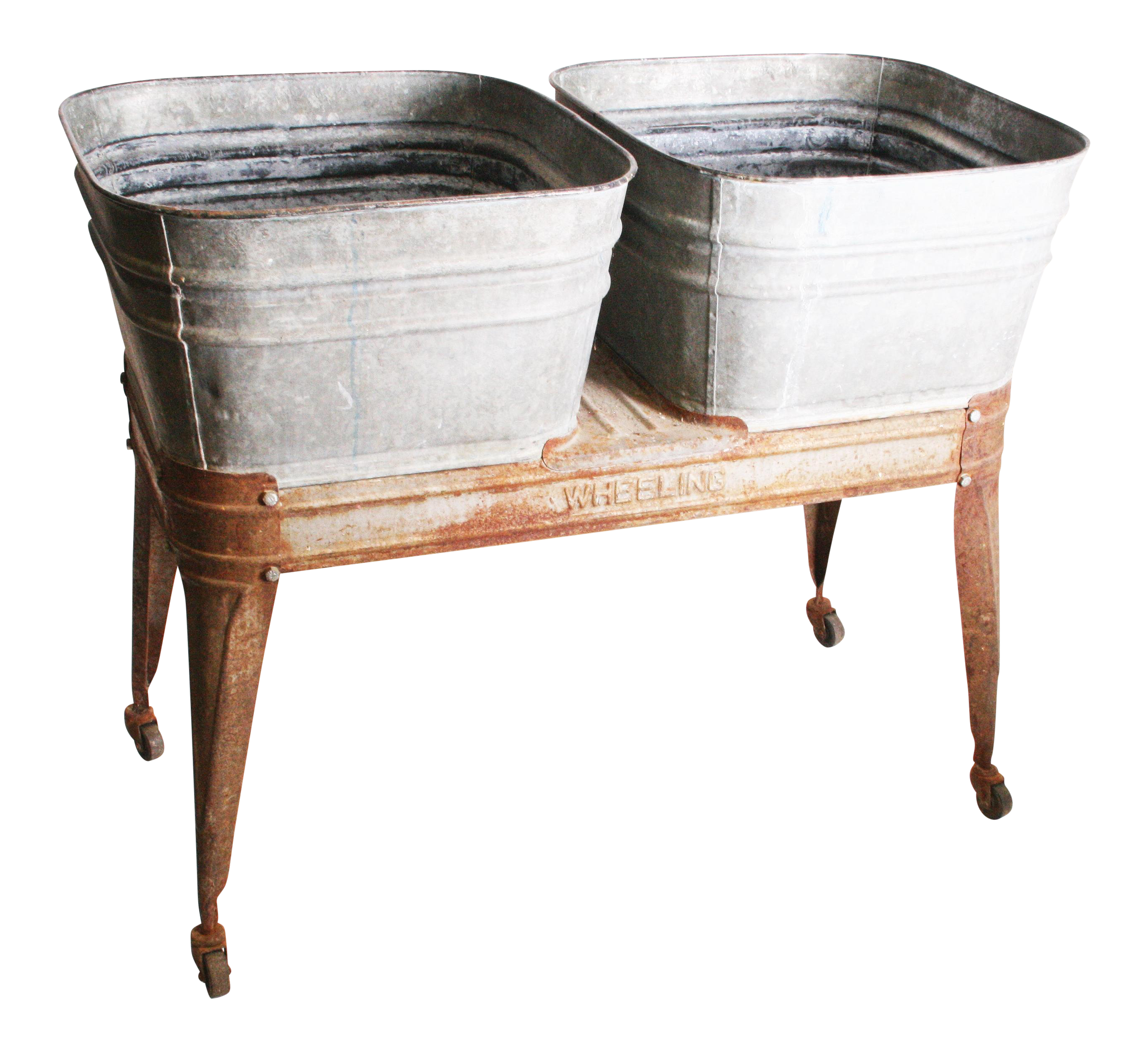 wash w vintage tubs tub image stand with wooden