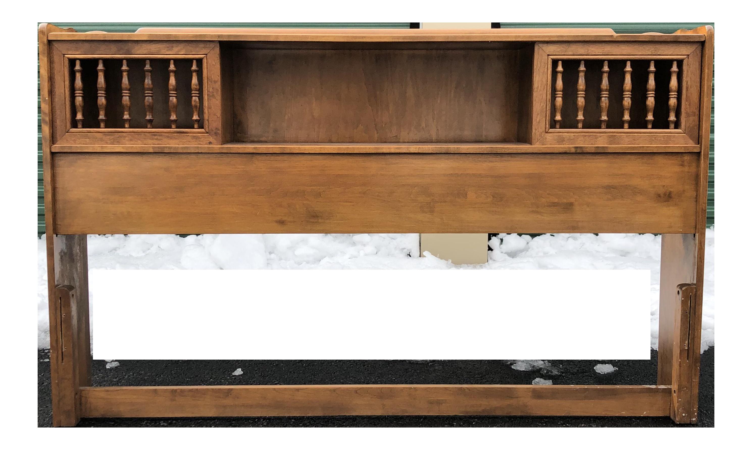 Solid Maple Queen Ethan Allen Heirloom Headboard