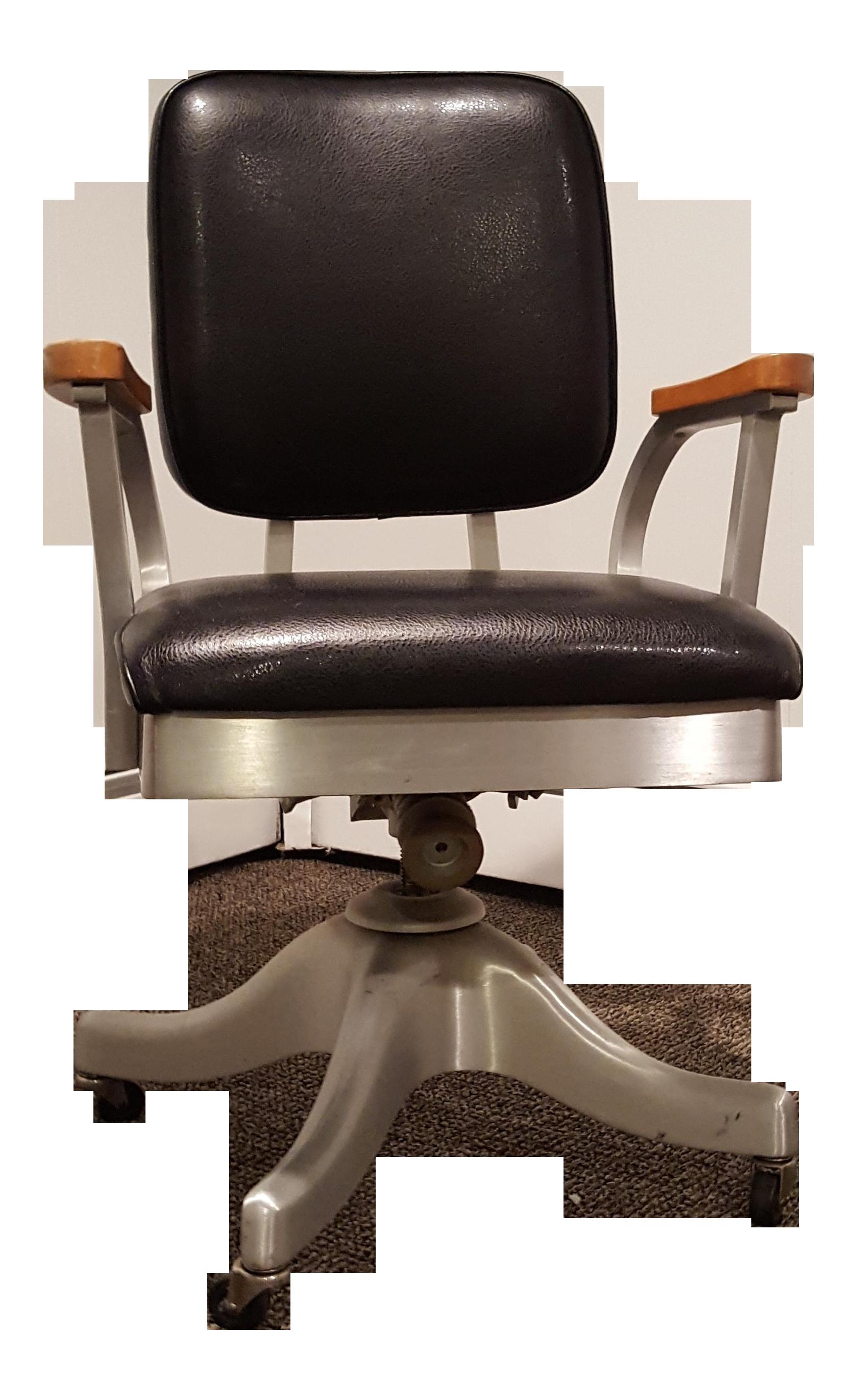 Vintage Shaw Walker Propeller Swivel Office Chair Chairish
