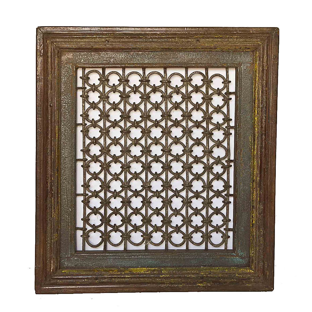 Wrought Iron Window Grill Frame