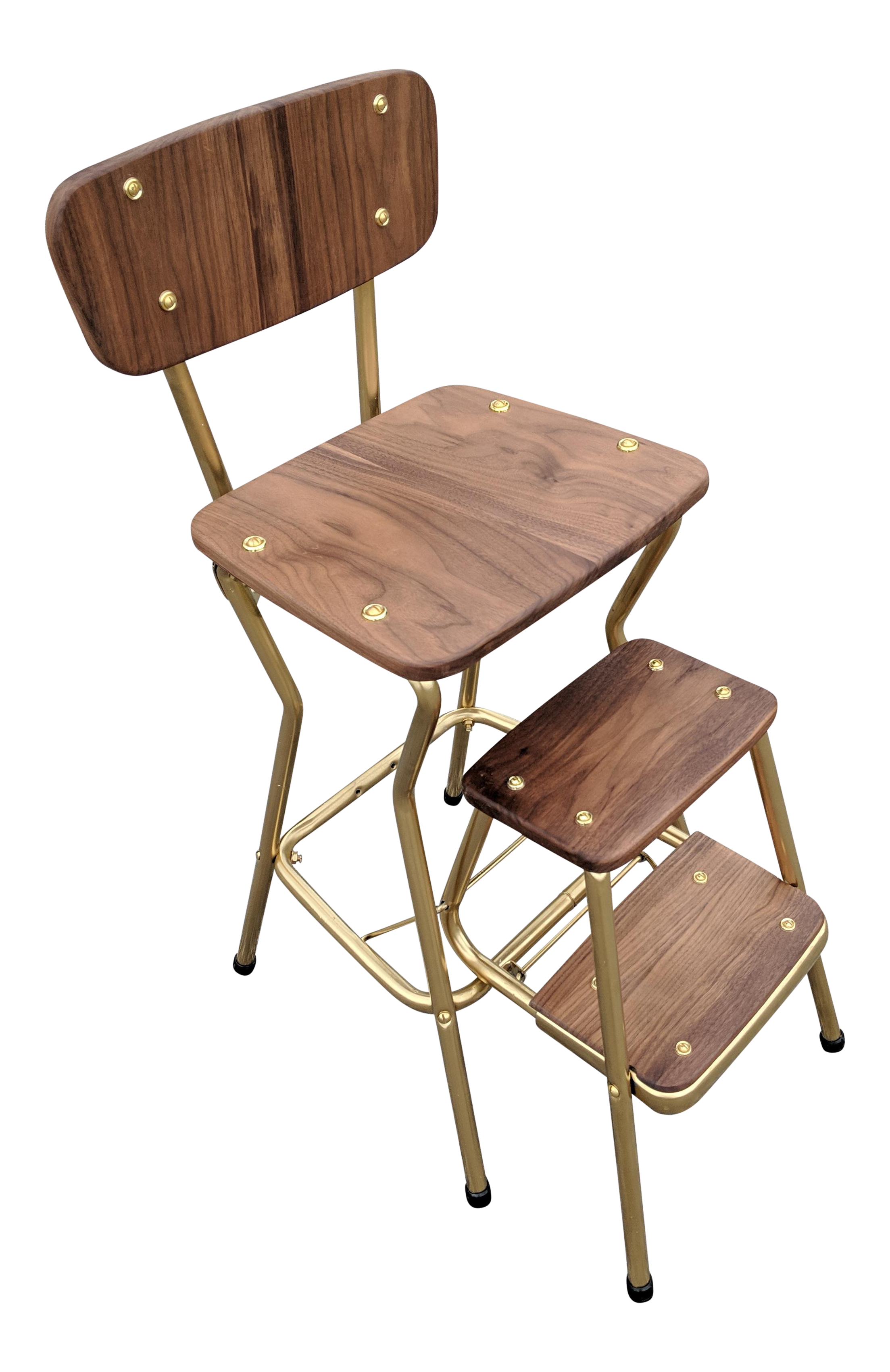 Miraculous Custom Mid Century Modern Kitchen Stool Chairish Pabps2019 Chair Design Images Pabps2019Com
