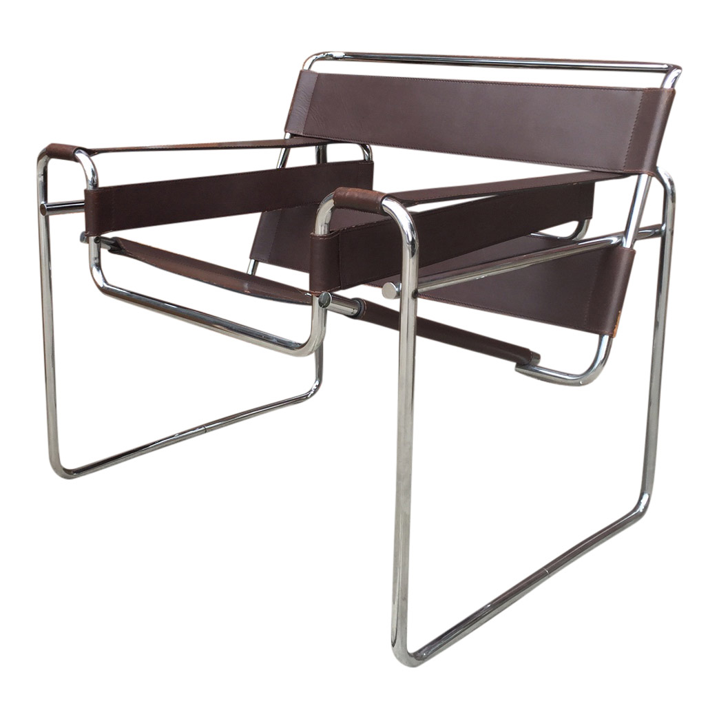 marcel breuer wassily chairs chairish. Black Bedroom Furniture Sets. Home Design Ideas