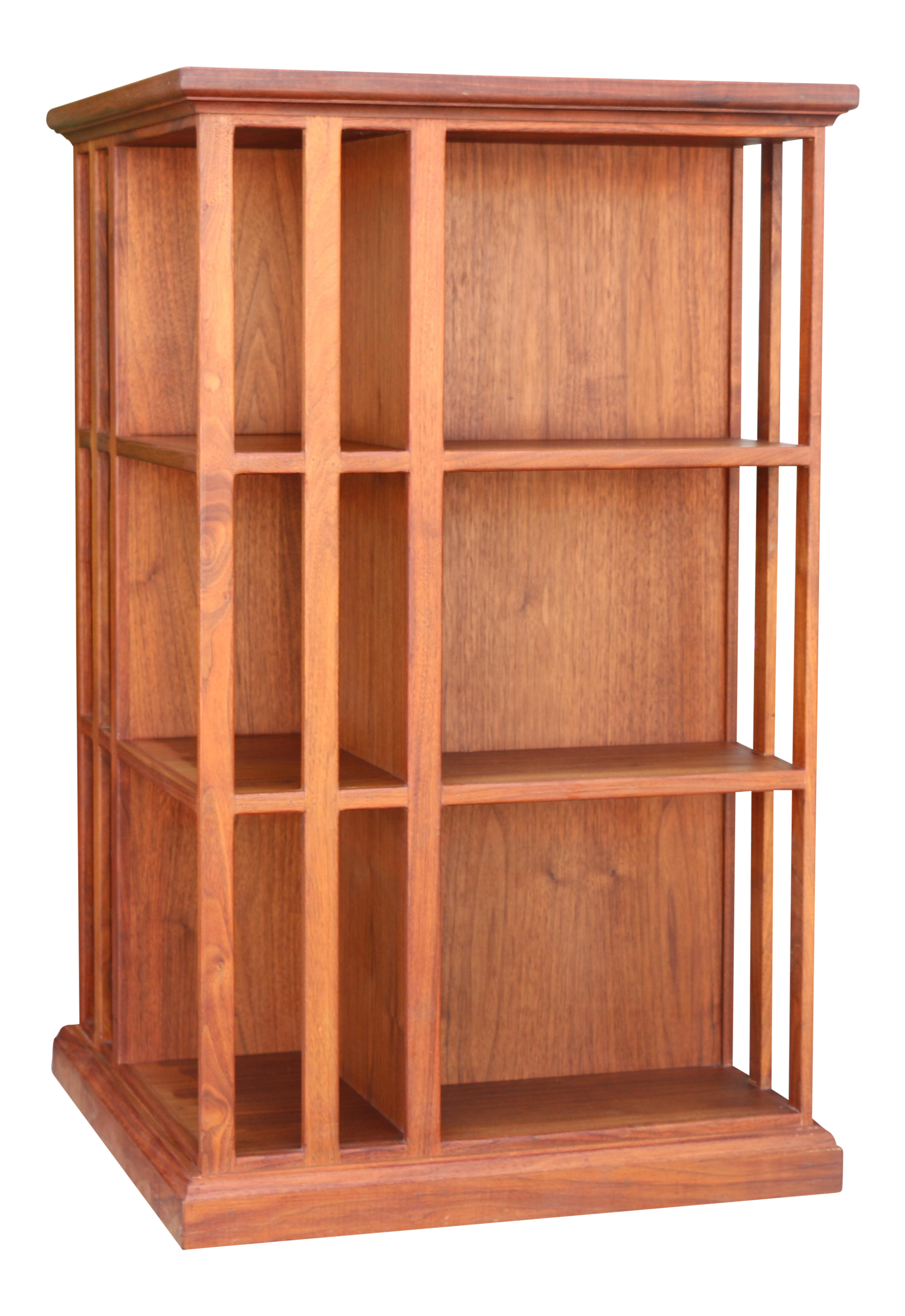 corner diy rotating bookcase home withheart furniture pin video