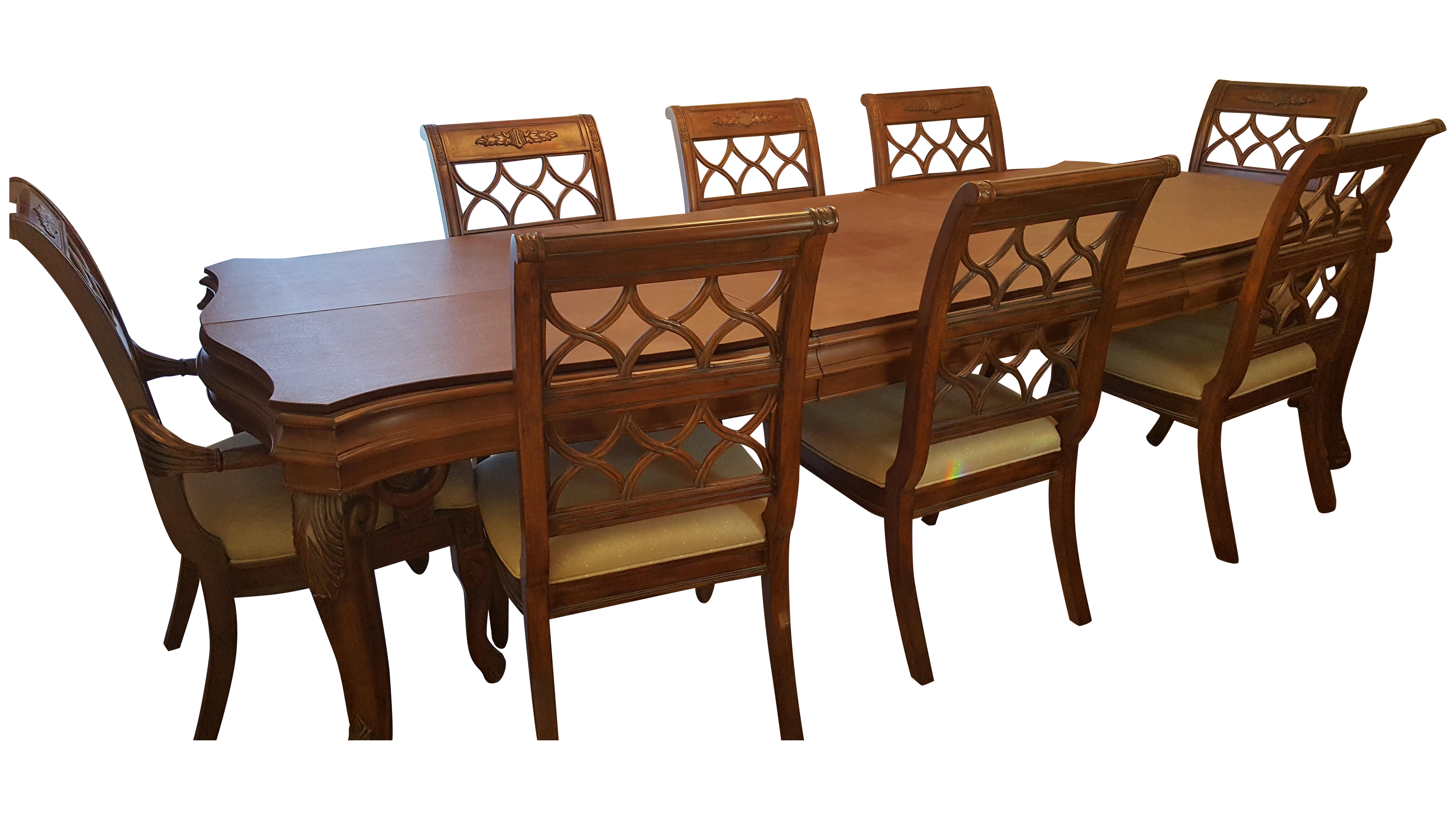 Drexel Heritage Talavera Dining Set | Chairish
