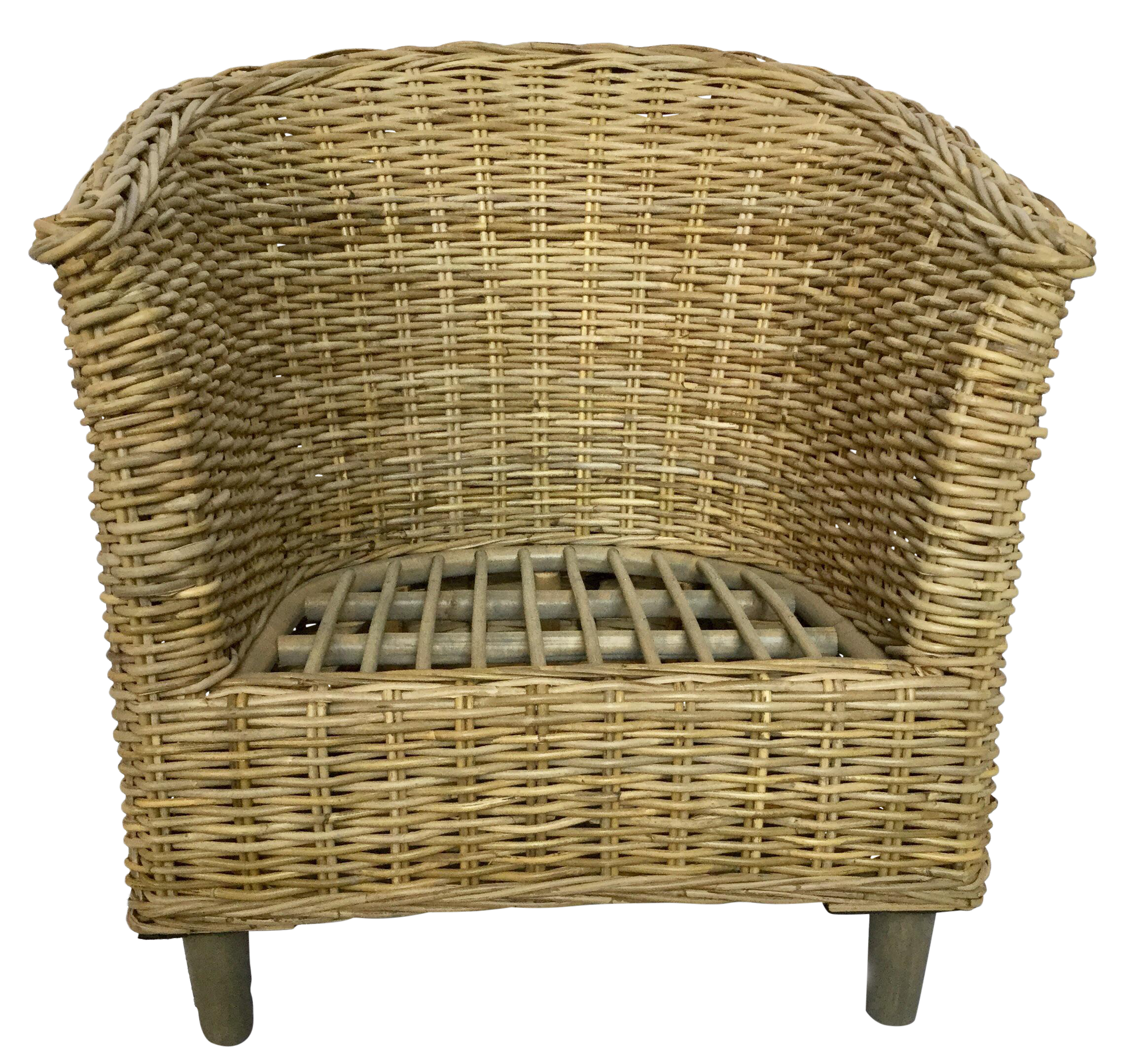 Wicker Accent Chairs.Boho Chic Wicker Accent Arm Chair