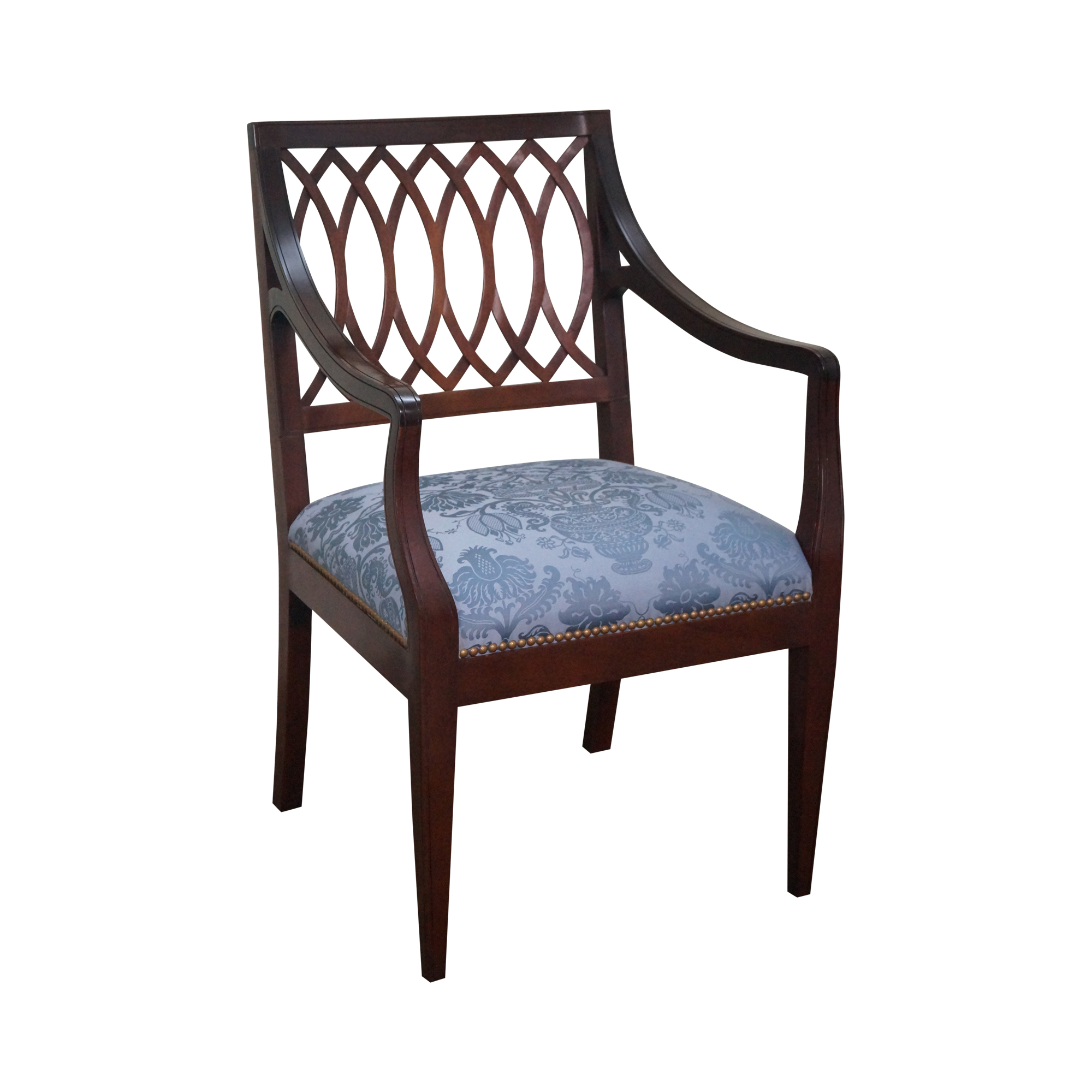 Stickley Colonial Williamsburg Mahogany Arm Chair Chairish