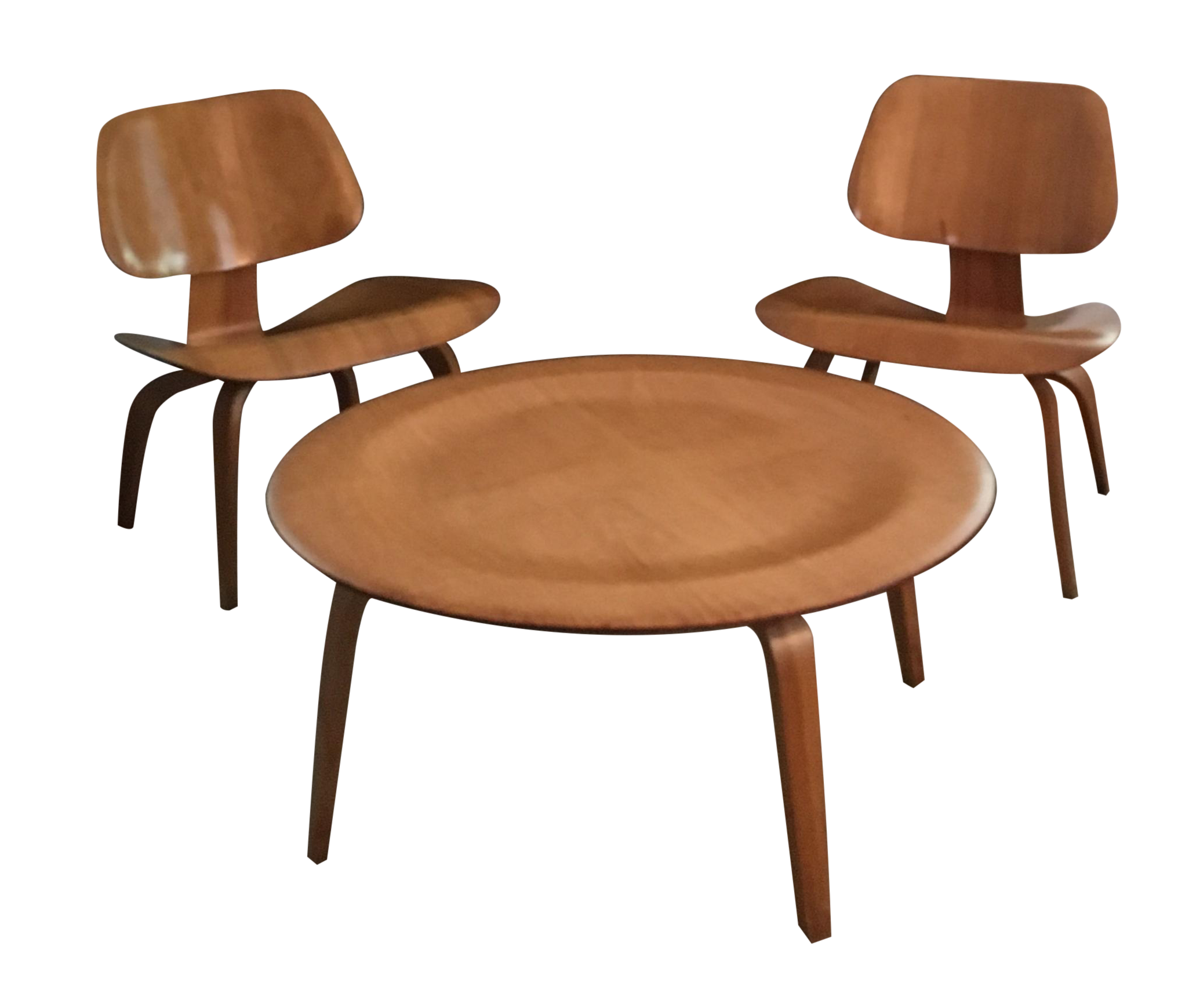 Eames Coffee Table And Chairs 3 Chairish
