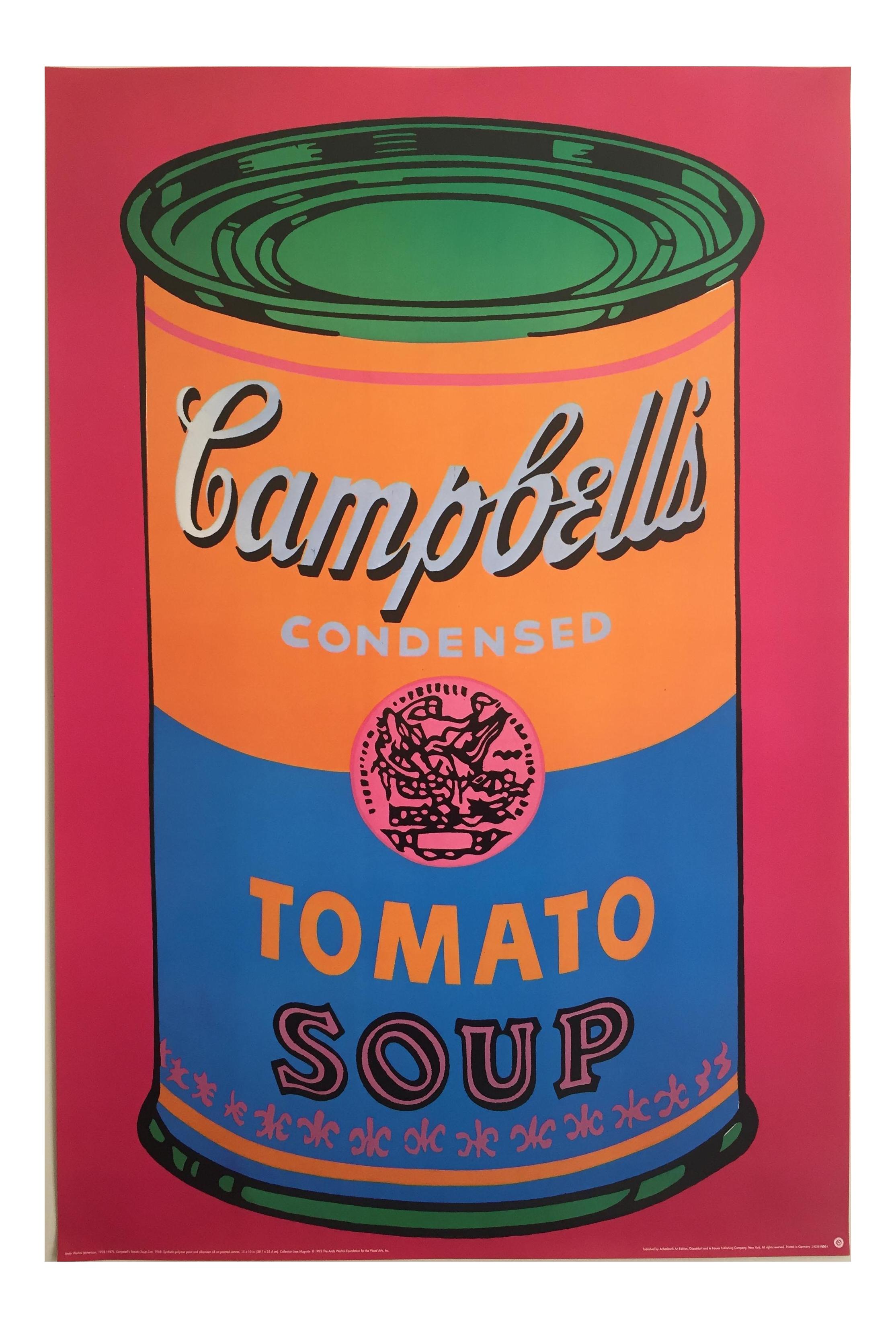 Andy Warhol Original Offset Lithograph Print Poster Campbells Soup ...