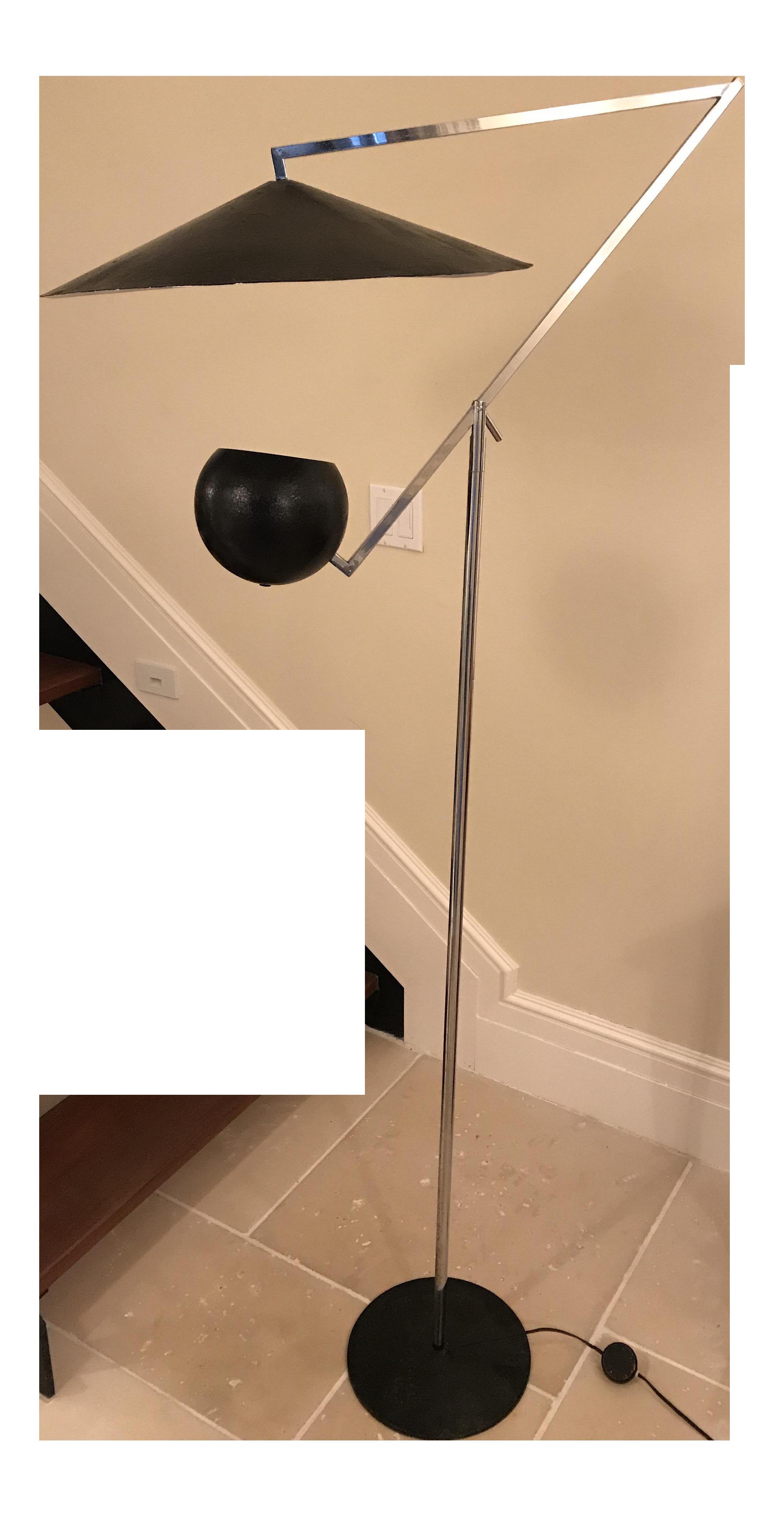 Robert sonneman floor lamp chairish aloadofball Choice Image