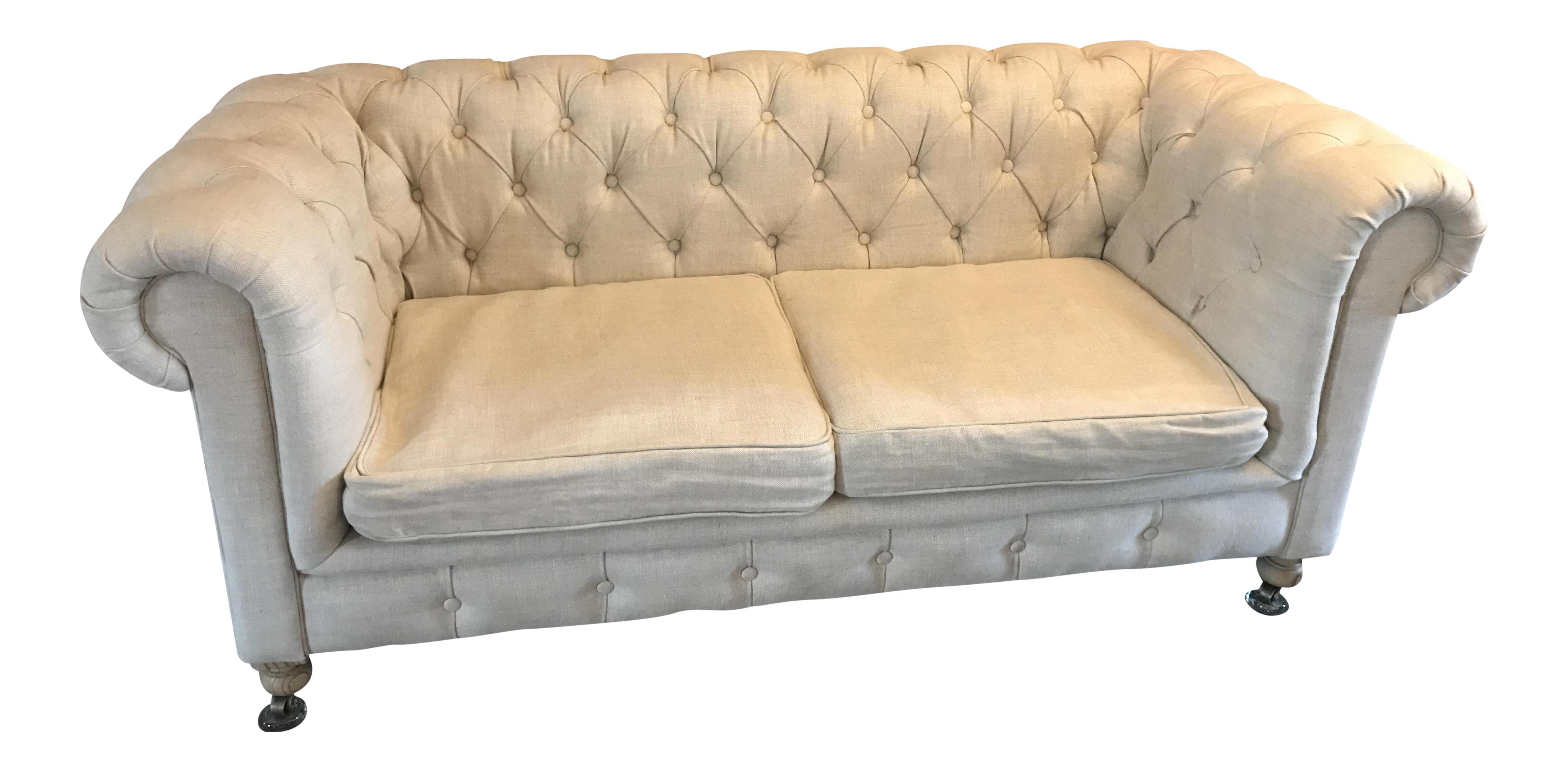 Restoration Hardware Petite Kensington Sofa Chairish